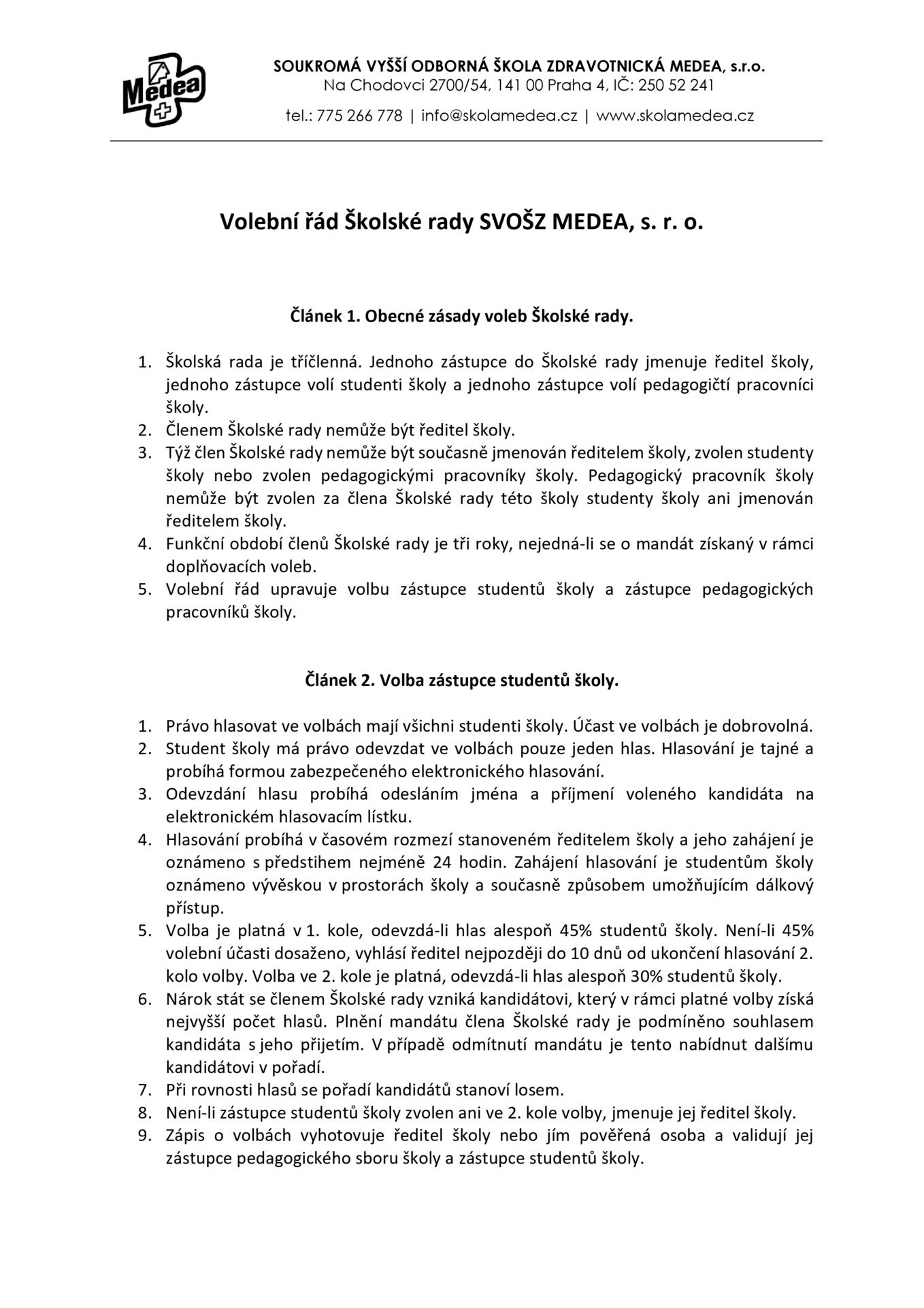 thumbnail of Volební řád ŠR v2018-03-09